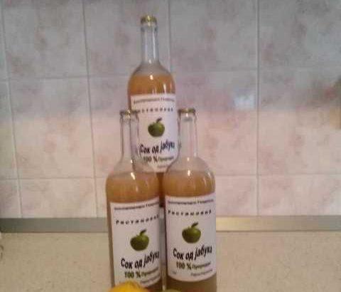 Domaći sok od jabuke