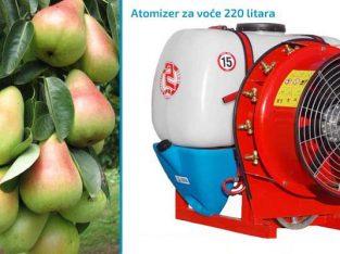 Na prodaju atomizer za voće 220l