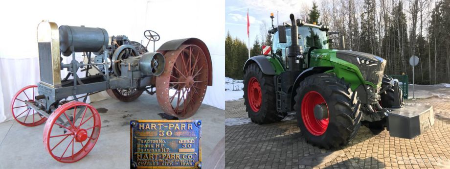Najstariji i najnoviji traktor