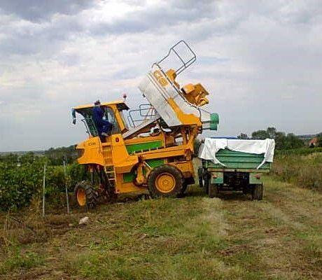 Kombajn za branje grožđa Gregoire G8