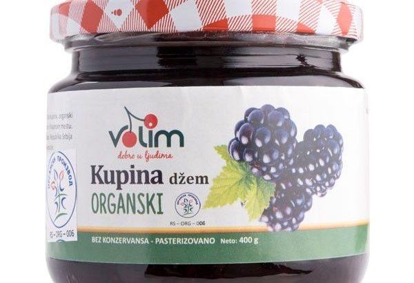 Organski džem kupina 400g