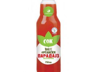 Organski sok od paradajza 0,75l