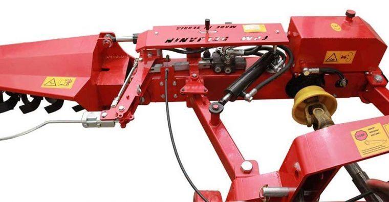 Traktorska voćarska freza pipalica