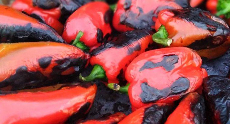 Ajvar od pečene paprike