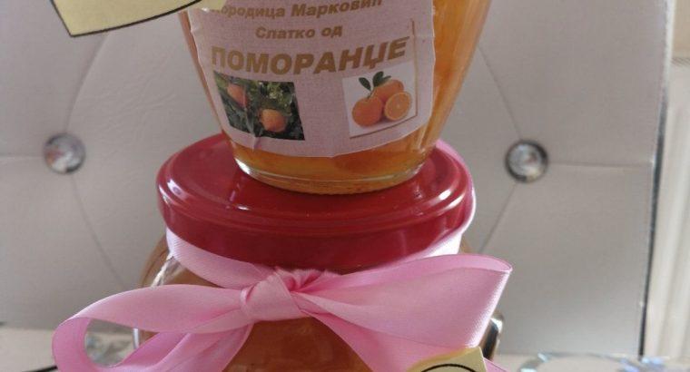 Prodajem Slatko od Pomorandze